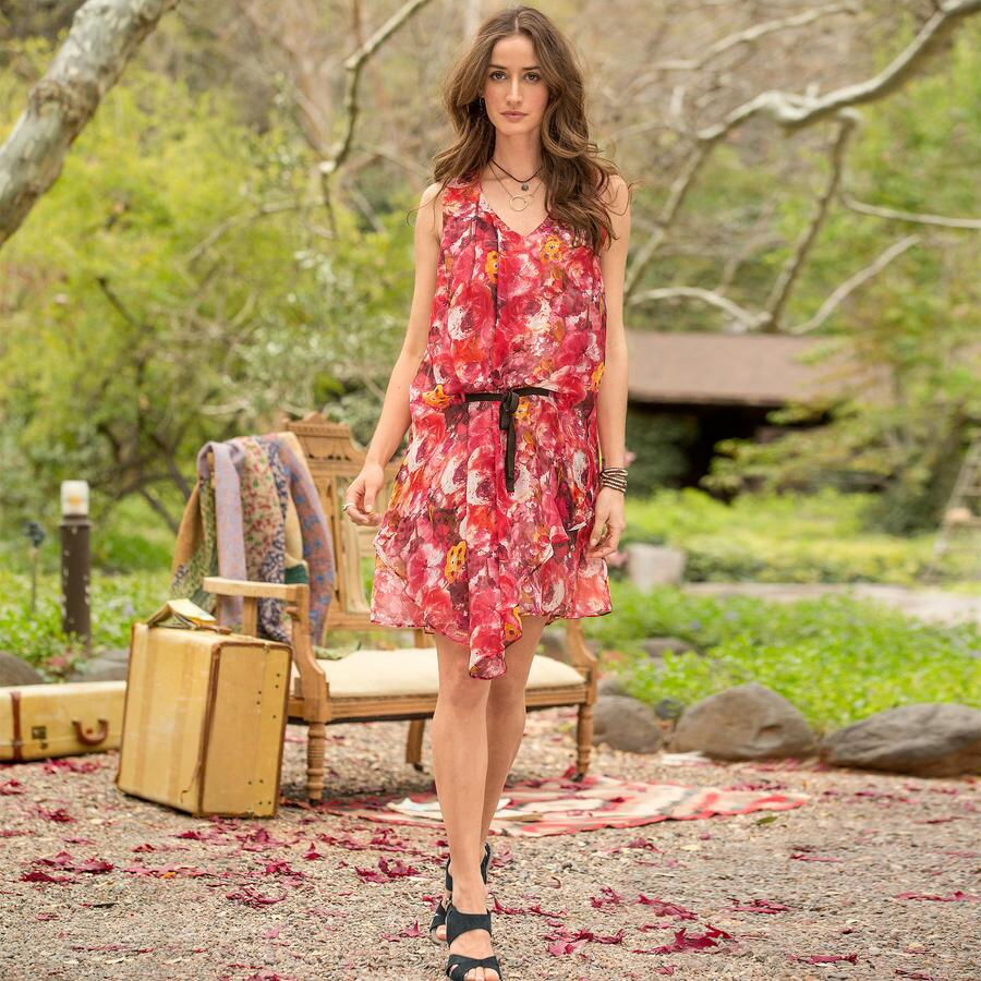 LANGUAGE OF ROSES DRESS