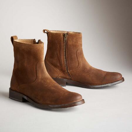 Oliver Short Suede Boots