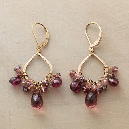 PINK TO PLUM EARRINGS