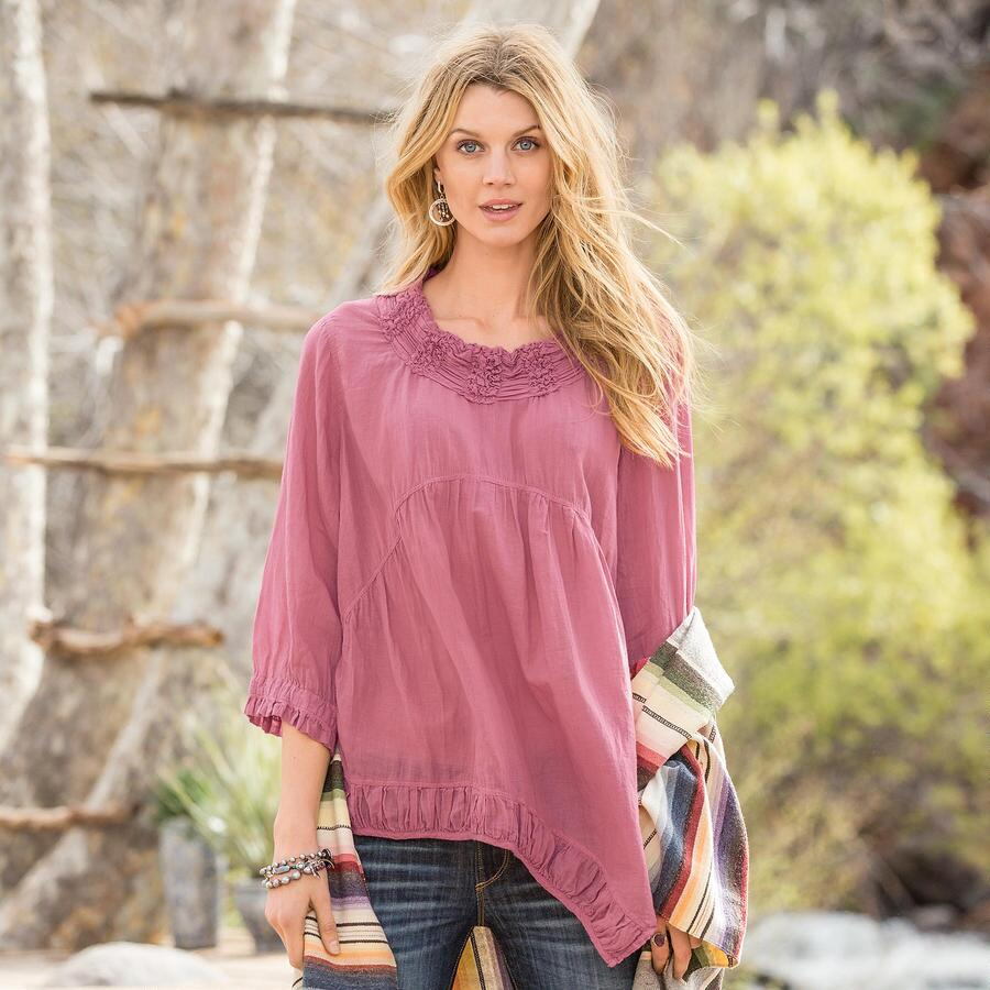 SCULPTURED DAWN TUNIC