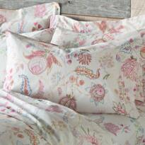 FLOWER SKETCHES PILLOWCASES, SET OF 2