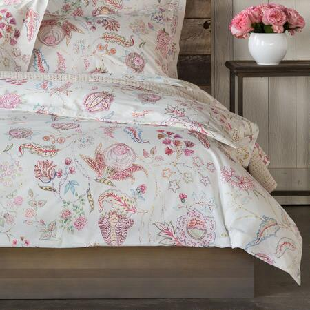 FLOWER SKETCHES DUVET COVER