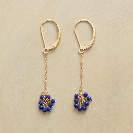 BLUE BELLE EARRINGS