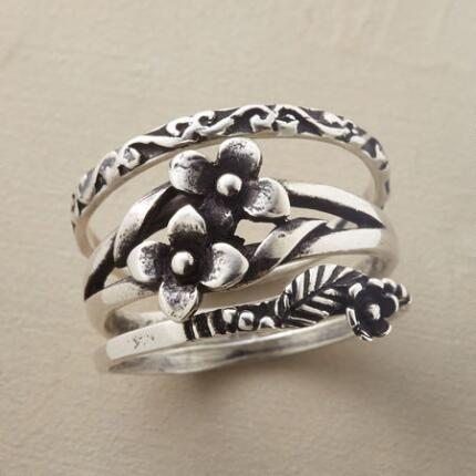 ENGLISH GARDEN RING TRIO