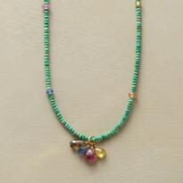 SPRINKLING OF SAPPHIRES NECKLACE