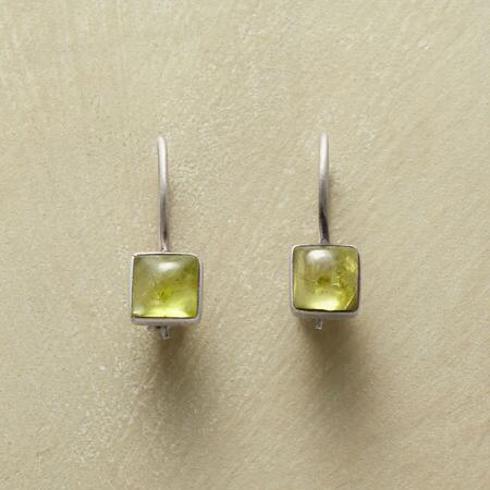 PATCH OF GREEN EARRINGS