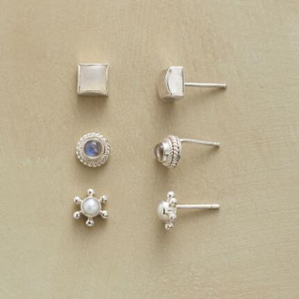 TWILIGHT MIST EARRING TRIO