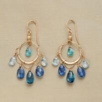 BLUE BEAUTY EARRINGS