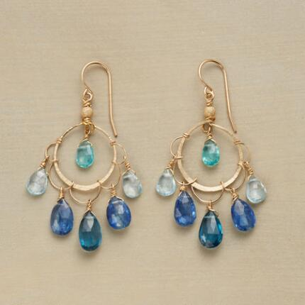 BLUE BEAUTY EARRINGS