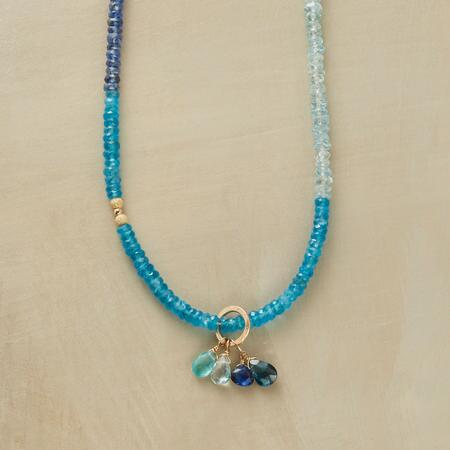 BLUE BEAUTY NECKLACE