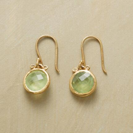 LIME TWIST EARRINGS