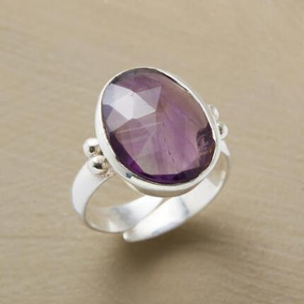 PLUM CRUSH RING