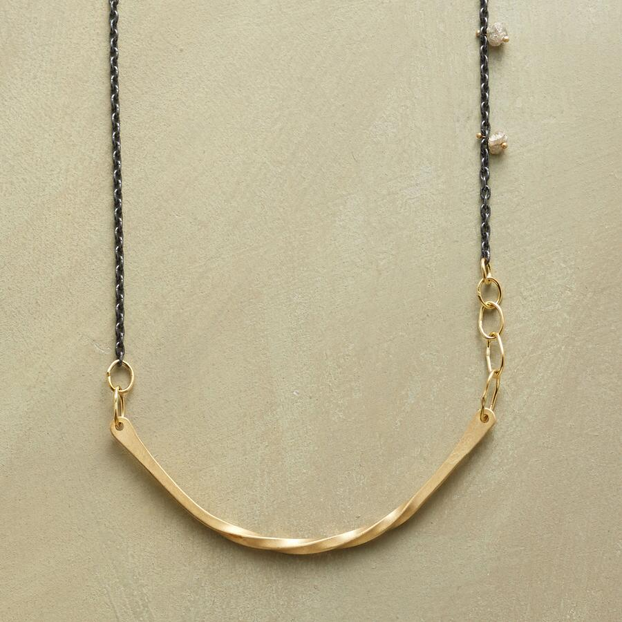 ARC OF GOLD NECKLACE