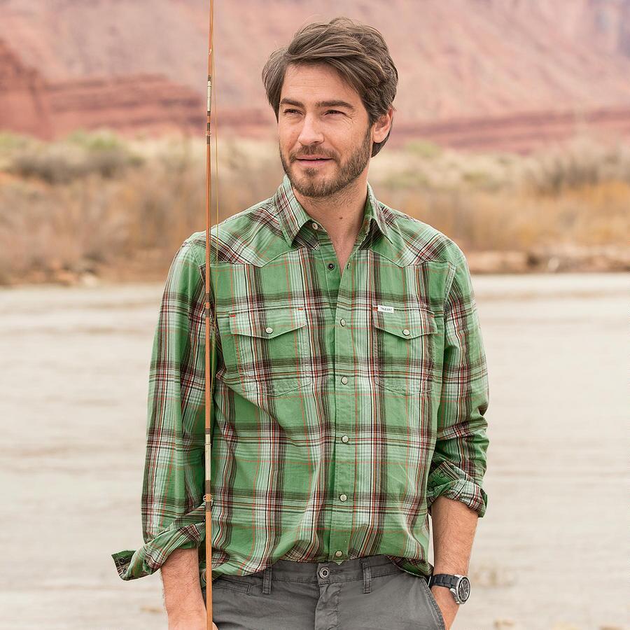 Carson Plaid Shirt