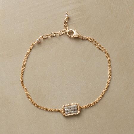 CHECKERBOARD DIAMOND BRACELET