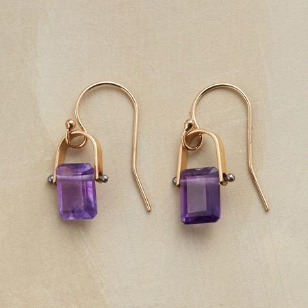 GLORIOUS AMETHYST EARRINGS