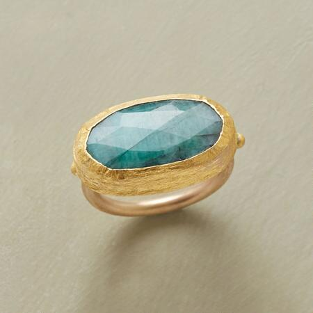 ONE AND ONLY EMERALD RING