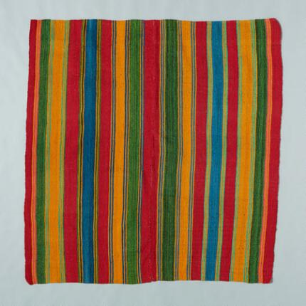ONE-OF-A-KIND BOLIVIAN CARANAVI THROW