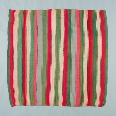 ONE-OF-A-KIND BOLIVIAN INQUISIVI THROW