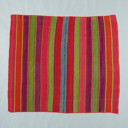 ONE-OF-A-KIND BOLIVIAN LOS ANDES THROW