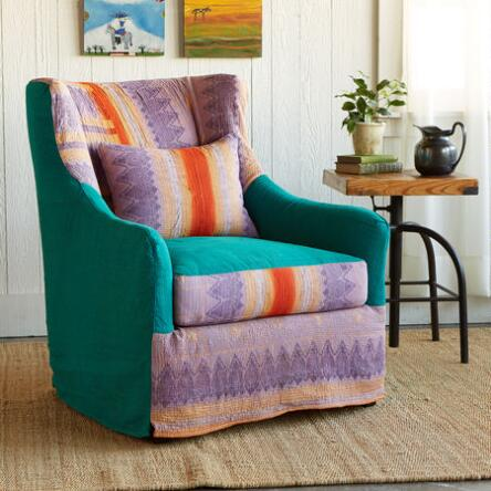 Chairs ottomans furniture home furnishings for Sari furniture designer