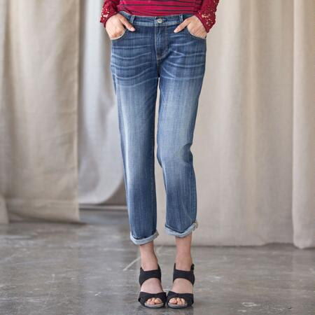 DRIFTWOOD FOREVER SUMMER CROP JEANS