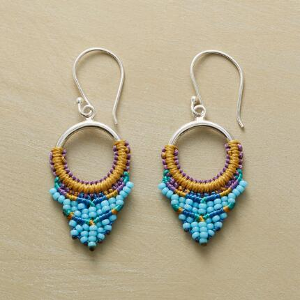 WAVE CREST EARRINGS