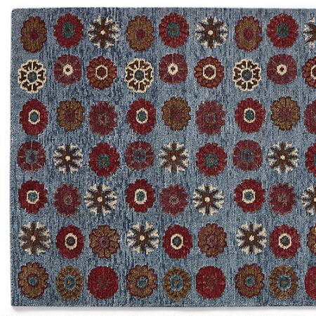 MOUNTAIN FLOWER KNOTTED RUG, LARGE