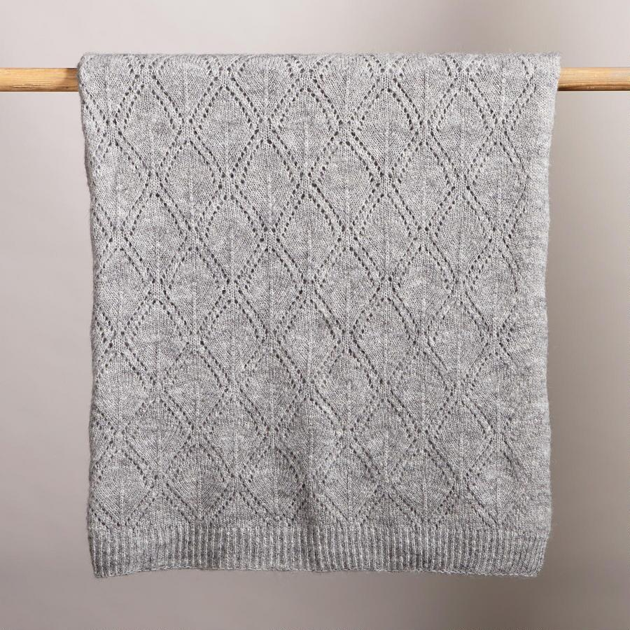 SAND WASH GRAY THROW