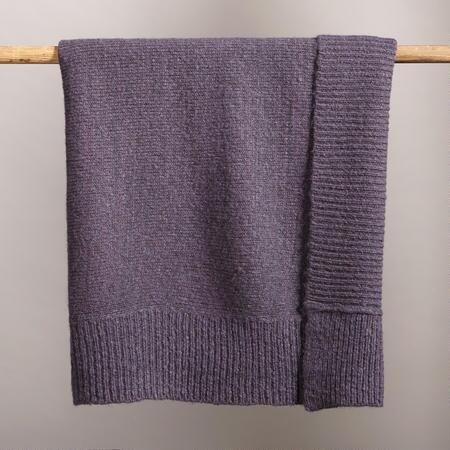 SAND WASH DUSTY PLUM THROW