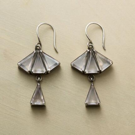 DECO FAN EARRINGS