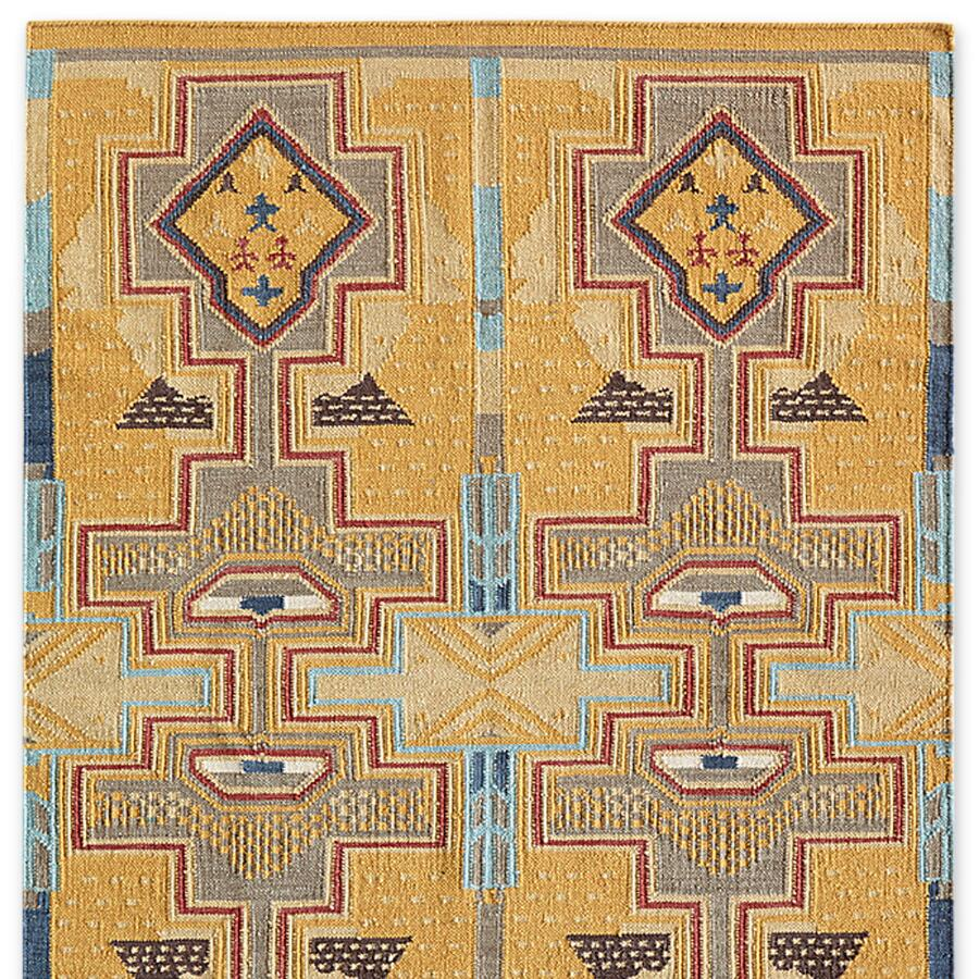 SUN CANYONS DHURRIE RUG, LARGE