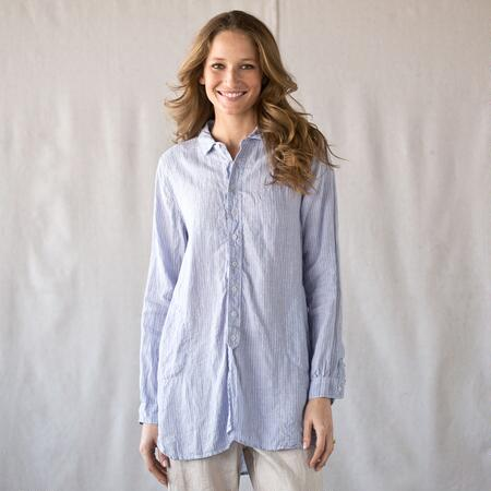 C P SHADES SEASPRAY STRIPE SHIRT