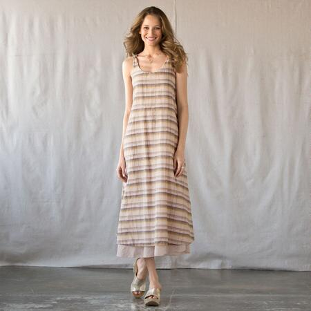 C P SHADES SUNDRESS OF A DIFFERENT STRIPE