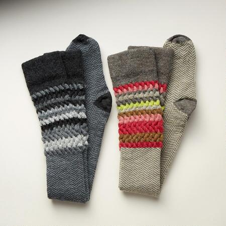 LONG ON STYLE SOCKS, SET OF 2