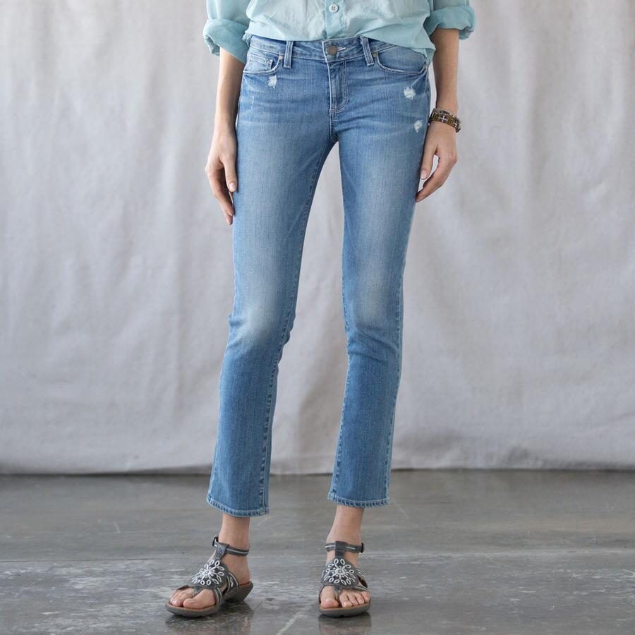 PAIGE SUMMER BLUES SKINNY JEANS