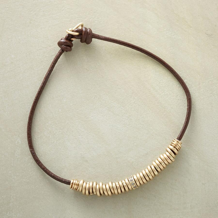 LAVISHED LEATHER BRACELET