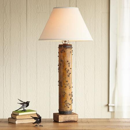 ONE-OF-A-KIND CHASTWORTH VINTAGE ROLLER LAMP