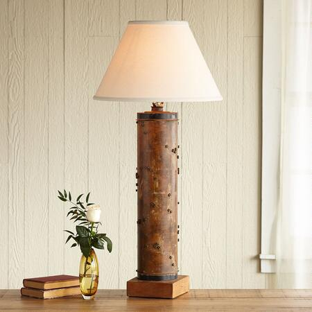 ONE-OF-A-KIND BLENHEIM VINTAGE ROLLER LAMP
