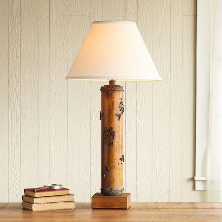 ONE-OF-A-KIND HARDWICK VINTAGE ROLLER LAMP