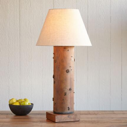 ONE-OF-A-KIND HATFIELD VINTAGE ROLLER LAMP