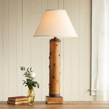 ONE-OF-A-KIND HOWARD VINTAGE ROLLER LAMP