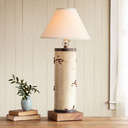 ONE-OF-A-KIND MONTACUTE VINTAGE ROLLER LAMP