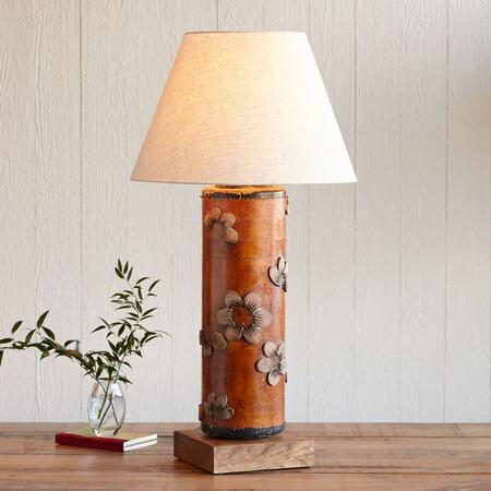 ONE-OF-A-KIND STOWE VINTAGE ROLLER LAMP