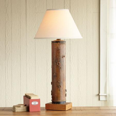 ONE-OF-A-KIND KEDLESTON VINTAGE ROLLER LAMP