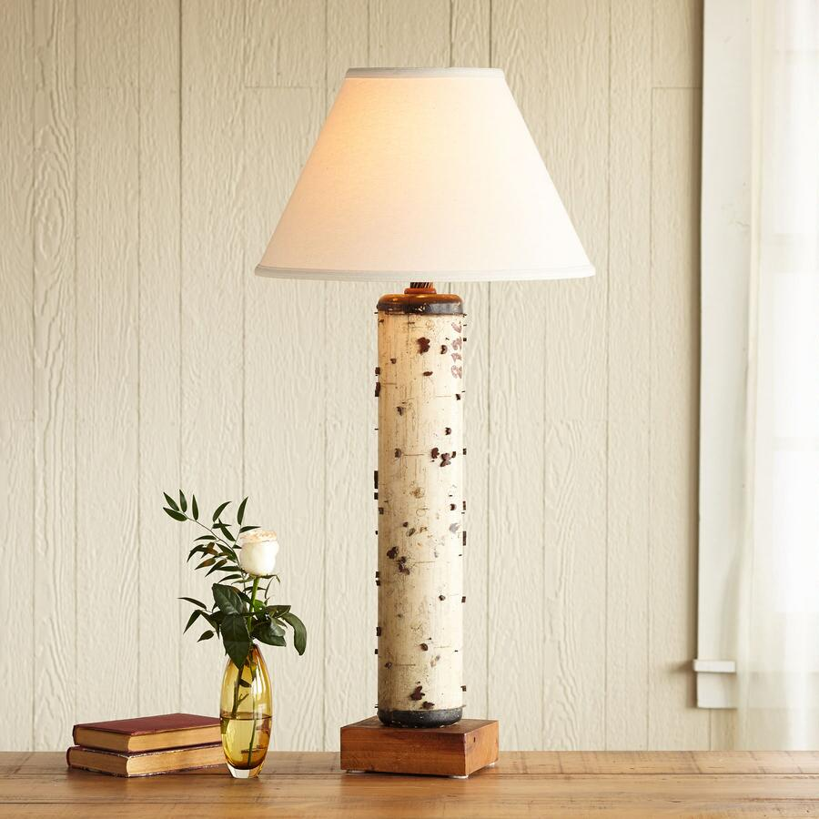 ONE-OF-A-KIND WADDESDON VINTAGE ROLLER LAMP