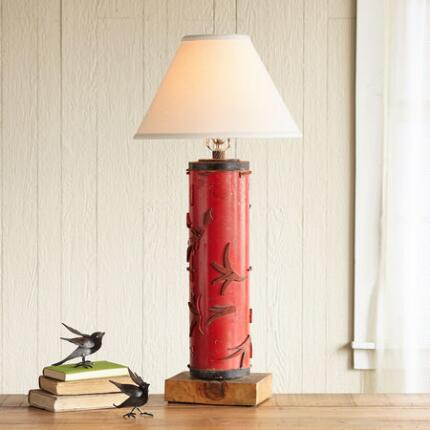 ONE-OF-A-KIND WILTON VINTAGE ROLLER LAMP
