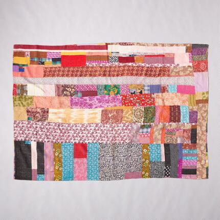 ONE-OF-A-KIND AMPAL QUILTED THROW