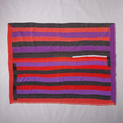 ONE-OF-A-KIND ANICCAM QUILTED THROW