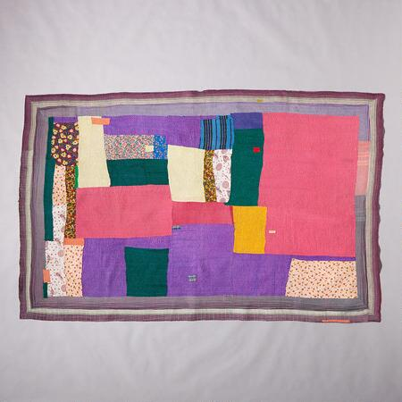 ONE-OF-A-KIND VAKULAM QUILTED THROW